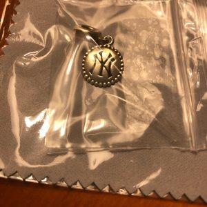 PANDORA Dangle Charm NY Yankees Sterling Silver
